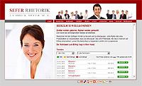 Webdesign-Agentur designbetrieb aus Essen launcht die Webseite www.sefer-rhetorik.de