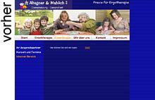 Neue virtuelle Räumlichkeiten für die Ergotherapiepraxis Altegoer & Mahlich in Wetter www.ergotherapie-wetter.de by designbetrieb aus Essen