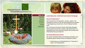 Homepage-Spende für den Förderverein Trauerbegleitung e.V.: designbetrieb aus Essen launcht www.foerderverein-trauerbegleitung-ev.de