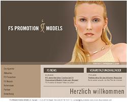 Webdesign-Agentur designbetrieb aus Essen launcht die Webseite www.fs-promotion.com
