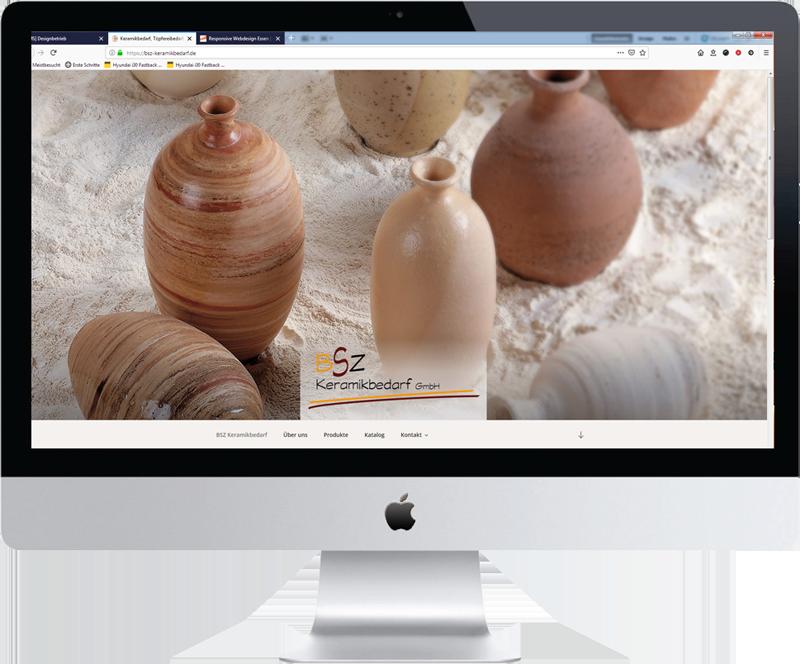 Relaunch von www.bsz-keramikbedarf.de DSGVO-konform und im Responsive Webdesign mit WordPress
