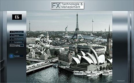 Webdesign-Agentur designbetrieb aus Essen aus Essen entwickelt und launcht die Webseite  www.fx-technologie.eu