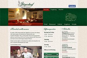 Webdesign-Agentur designbetrieb aus Essen entwickelt und launcht  www.jaegerhof-essen.de