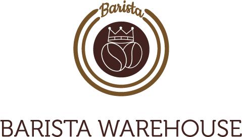 Entwicklung eines prägnanten und positiven Logos für BaristaWarehouse in Griechenland