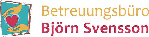 Entwicklung eines prägnanten und positiven Logos für das Betreuungsbüro Björn Svensson