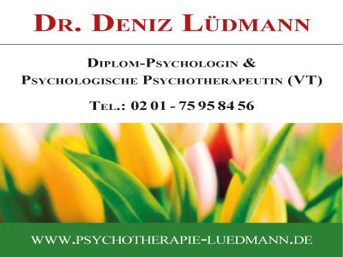 Praxisschild Dr. Deniz Lüdmann
