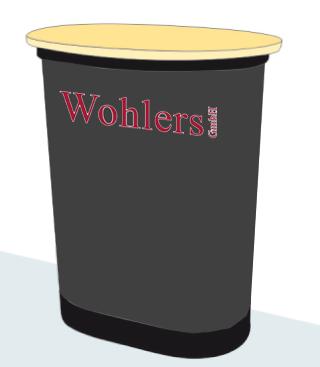 Messe-Theke für Generalagentur Wohlers