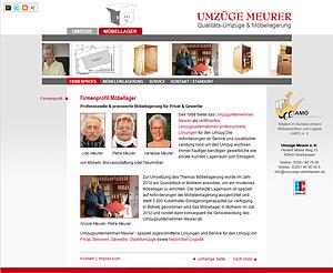 Webdesign-Agentur designbetrieb aus Essen entwicklt und launcht die Webseite  www.moebellager-oberhausen.de