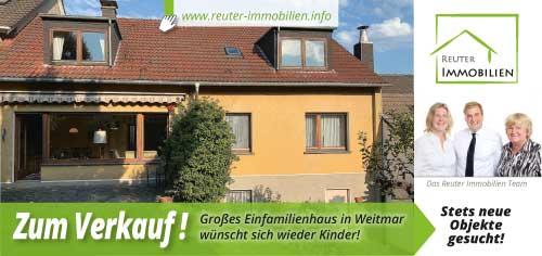 Reuter Immobilien setzt auf neue Werbe-Postwurfsendung: Zum Verkauf: Großes Einfamilienhaus in Weitmar wünscht sich wieder Kinder