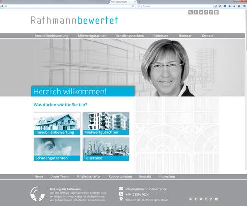 Responsive Webdesign www.rathmann-bewertet.de