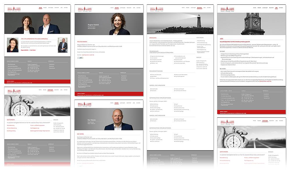 designbetrieb (Webdesign aus Essen) launcht www.simon-rabieh.de