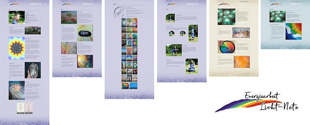 Webdesign - Relaunch und neues Design für Energiearbeit Licht-Netz (www.k-a-t-z.de)