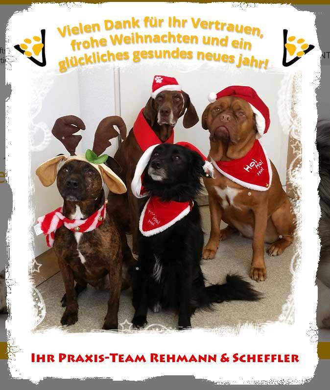 Xmas-Verkleidung für Webseite ww.rehmann-scheffler.de