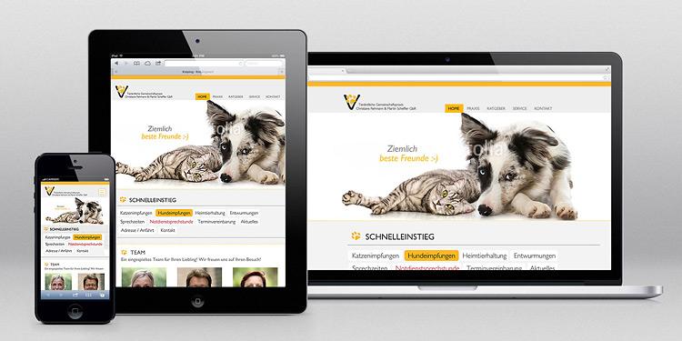 Webdesign-Spezialist designbetrieb aus Essen relauncht www.rehmann-scheffler.de im Responsive Webdesign