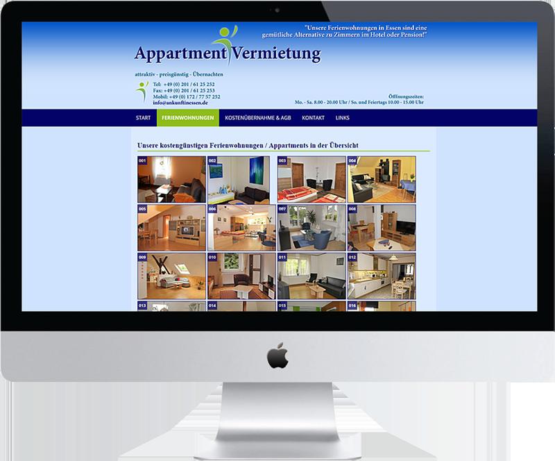 Relaunch von www.ankunftinessen.de DSGVO-konform und im Responsive Webdesign mit WordPress
