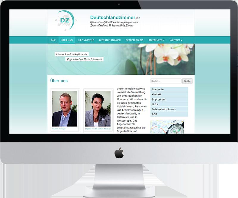 Relaunch von www.deutschlandzimmer.de DSGVO-konform und im Responsive Webdesign mit WordPress