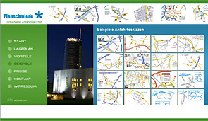 Launch der Internetseite www.anfahrtsskizzen-erstellen.de durch designbetrieb (Webdesign-Agentur aus Essen)