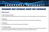 Webdesign-Spezialist designbetrieb aus Essen launcht die Webseite www.langsames-internet.de