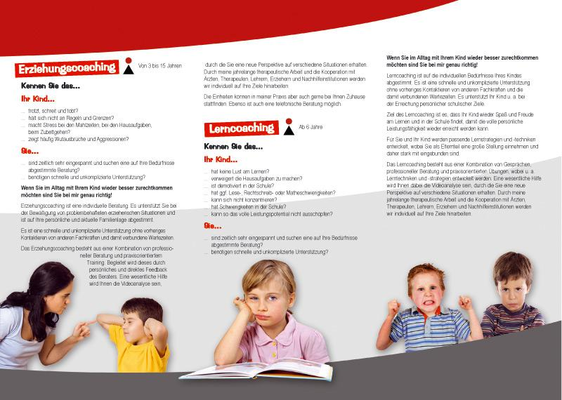 Flyer Ergotherapie Altegoer & Mahlich