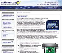 Webdesign-Agentur designbetrieb aus Essen launcht die Webseite www.optimum.de