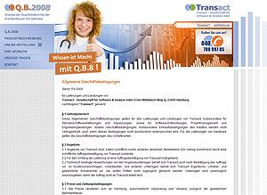 Launch der Internetseiten www.qb-8.de, Logoerstellung, Flyer und Splash-screen durch Webdesign-Agentur designbetrieb aus Essen