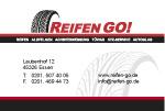 Visitenkarten  für Reifen GO!