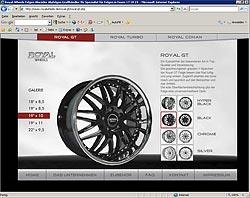 Royal Wheels gehen online: Webdesign-Agentur designbetrieb launcht www.royalwheels.de