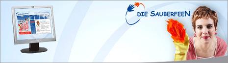 Webdesign-Agentur designbetrieb aus Essen entwickelt und launcht  www.sauberfeen.de