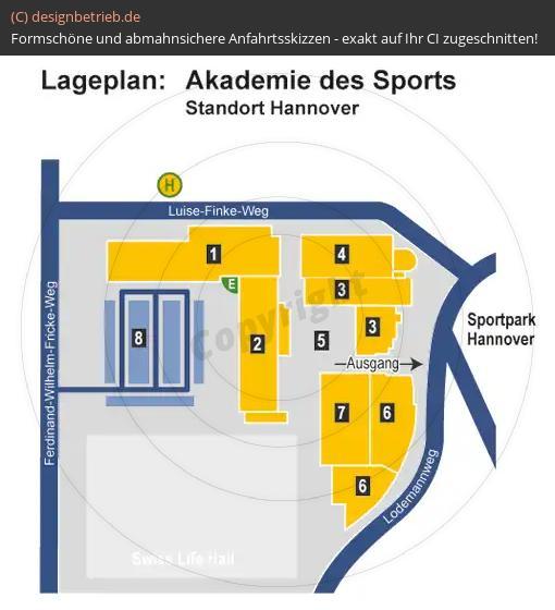 anfahrtsskizze erstellen anfahrtsskizze lageplan sportpark hannover akademie des sports. Black Bedroom Furniture Sets. Home Design Ideas